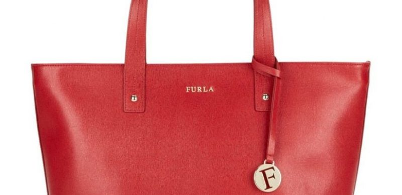 Furla Daisy Saffiano Leather Tote Bag