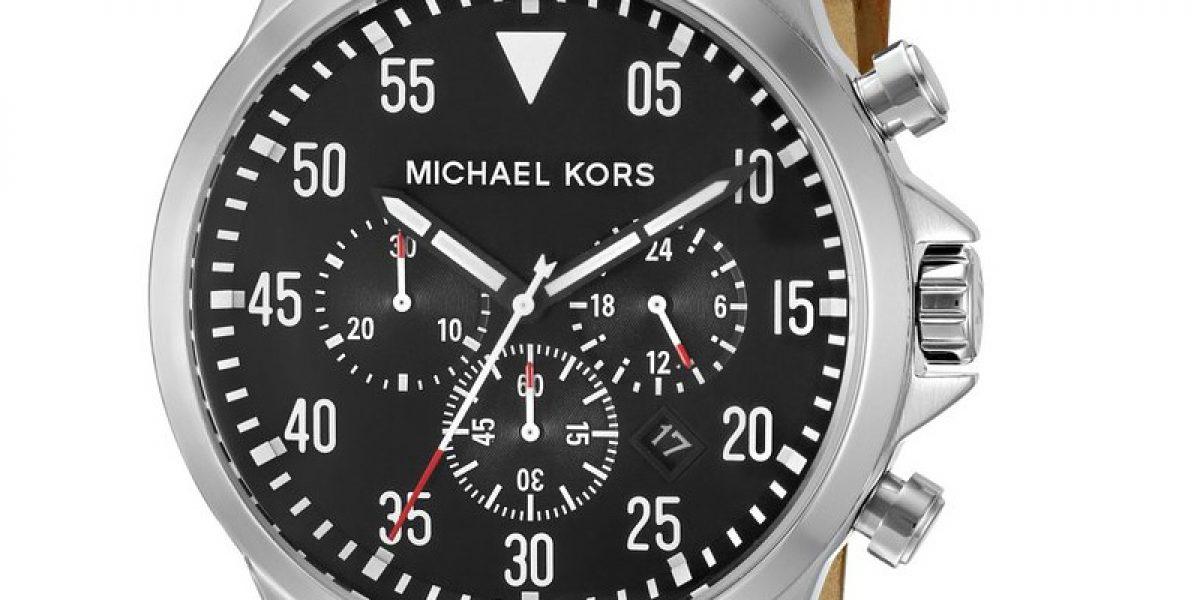 2c37ef943967 Michael Kors Men's MK8333 Gage Brown Watch | Colour My Style