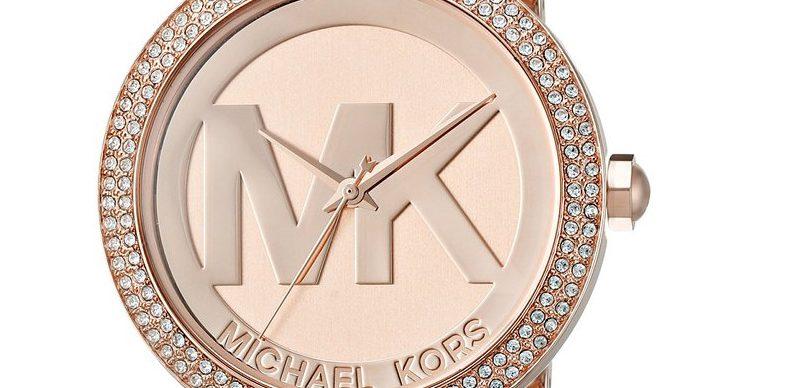 128f950e9fca Michael Kors Women s Parker Rose Gold-Tone Watch MK5865