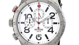 Nixon-Mens-48-20-GunMetalWhite