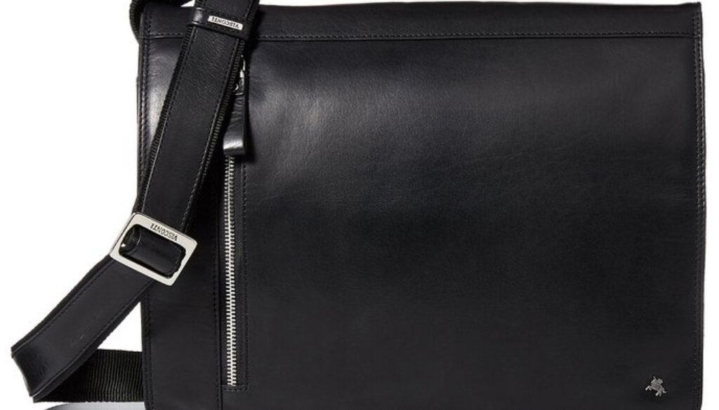 Visconti Buffalo Leather Messenger
